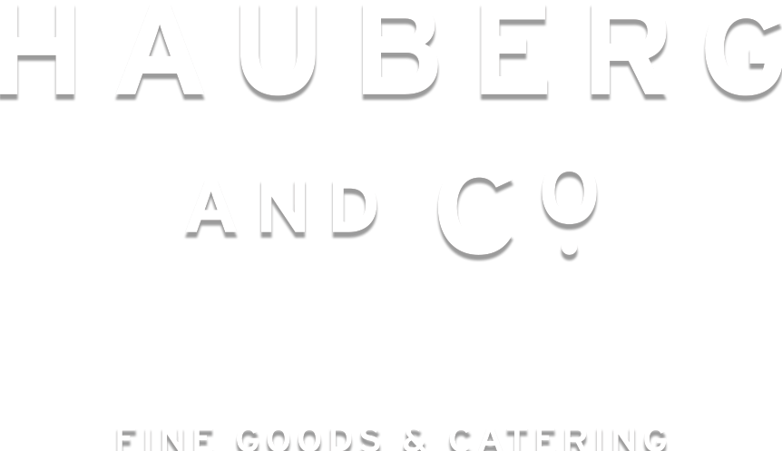 Hauberg & Co | Catering | Canberra